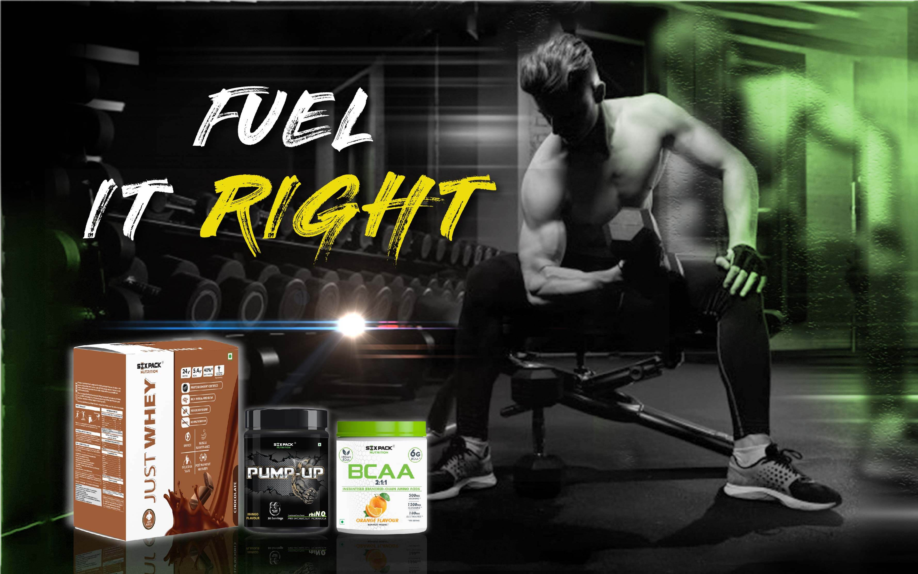 Right nutrition to fuel your workout